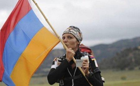 Թելմա Ալթուն անունով հայուհին վազելով Հայաստանից Արցախ կհասնի