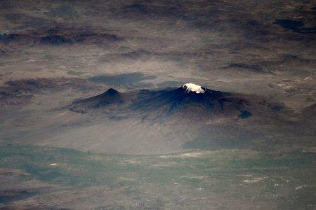 Արարատ լեռան եզակի լուսանկարներ՝ տիեզերքից. լուսանկար