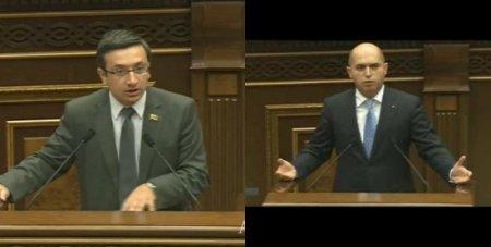 Գորգիսյան- Աշոտյան բանավեճ ԱԺ-ում.Տեսանյութ