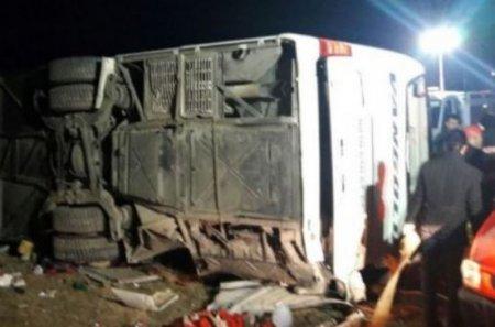 17 մարդ է վիրավորվել ավտոբուսի և բեռնատարի բախման հետևանքով
