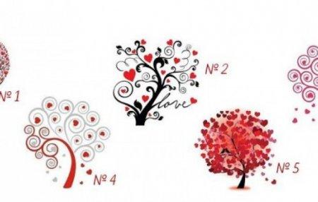 Ընտրեք ծառը և իմացեք` ինչպիսին եք սիրային հարաբերություններում