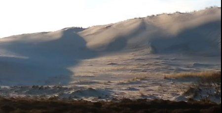 Սահարա անապատում ձյուն է տեղացել .տեսանյութ