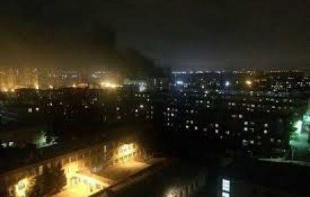 Ուժեղ պայթյուն Բաքվի ռազմական գործարաններից մեկում (տեսանյութ)