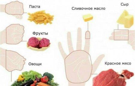 Հաշվեք մատների վրա․ որքան սնունդ է անհրաժեշտ ամեն օր
