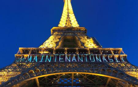 Փարիզում Էյֆելյան աշտարակի լուսավորումը փոխել են հաջակցություն կանանց իրավունքների