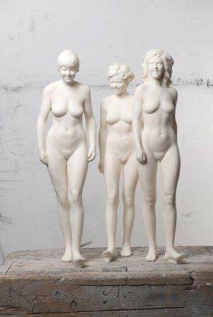 Ֆրանսիայում ցուցադրվել է Անգելա Մերկելի մարմարե մերկ արձանը