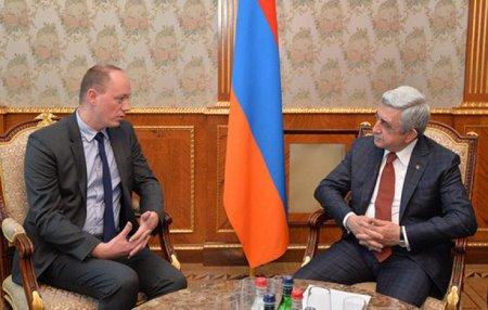 Սերժ Սարգսյանը բարձր է գնահատել անցած տարիներին ԱՄՀ-ի հետ Հայաստանի համագործակցությունը