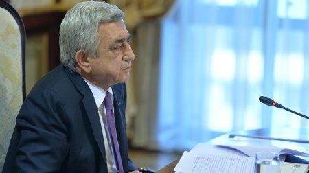 Սերժ Սարգսյանը հրավիրել է խորհրդակցություն