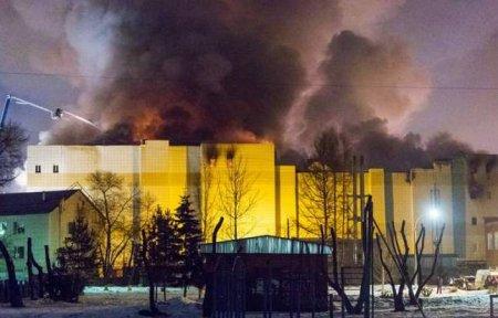 Խոշոր հրդեհ Կեմերովոյի առեւտրի կենտրոնում. արդեն 53 զոհ կա. ՏԵՍԱՆՅՈՒԹ