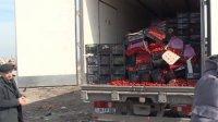 Վերին Լարսում Հայաստանից արտահանված ավելի քան 6 տոննա թարմ բանջարեղեն են ոչնչացրել․տեսանյութ