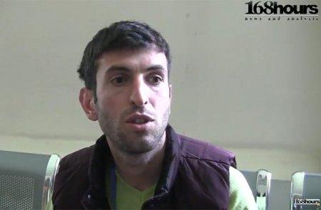 Ոստիկանները դարձյալ ծեծի ենթարկեցին լրագրող Տիրայր Մուրադյանին