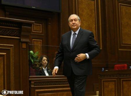 Ով էլ սահմանադրորեն ընտրվի վարչապետ, ես կստորագրեմ հրամանագիրը. Արմեն Սարգսյան