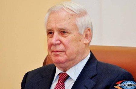 Նիկոլայ Ռիժկովը Հայաստանում է
