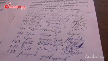 Քանի ստորագրություն հավաքվեց Ծառուկյան խմբակցությունում. ԼՈՒՍԱՆԿԱՐՆԵՐ