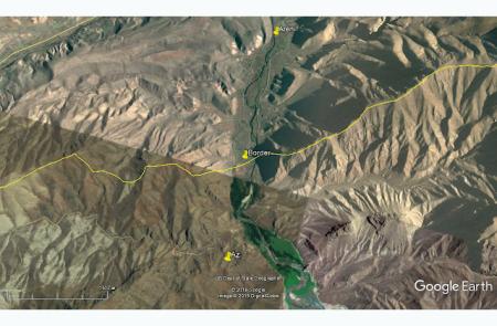Ադրբեջանական դիրքերը Նախիջևանում. Արենի գյուղը և  Երևան-Եղեգնաձոր հատվածը նշանակետի տակ են գտնվում ադրբեջանցիների առաջխաղացման պատճառով