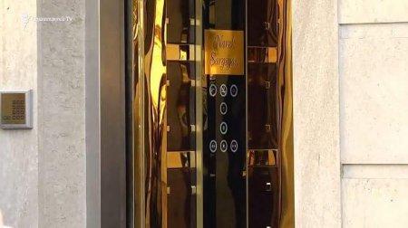 Սաշիկ Սարգսյանի ոսկեզօծ վերելակը (լուսանկարներ)