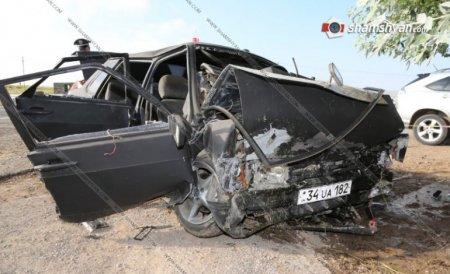 Ողբերգական ավտովթար Սևանում. կա 2 զոհ