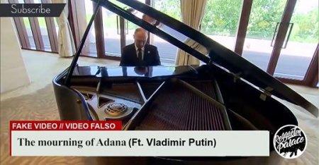 Պուտինը դաշնամուրի վրա նվագել է «Ադանայի ողբը»-ն.տեսանյութ