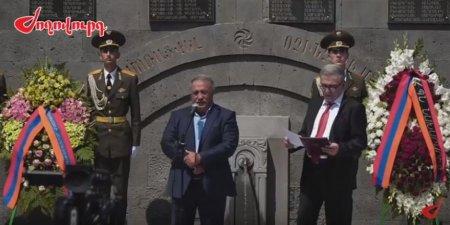 Հուշարձանները կանգնեցնում ենք, որ ամեն անգամ հուշարձանին նայելիս վերգտնենք մեր ամոթը, եթե մի պահ կորցրել ենք այն. ՀՀ վարչապետ