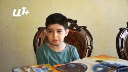7-ամյա հայ տղան ռեկորդ է սահմանել՝ քիմիայի և մաթեմաթիկայի խնդիրներ լուծելով (տեսանյութ)