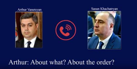 Արդյո՞ք գաղտնալսվել է ՀՀ ԱԱԾ տնօրենի և ՀՔԾ պետի հեռախոսազրույցը Քոչարյանի, Խաչատուրովի կալանքի մասին.տեսանյութ