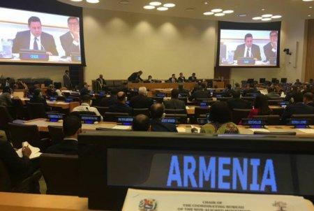 ՀՀ ԱԳՆ ներկայացուցիչը պատասխանել է Ադրբեջանի պատվիրակության ղեկավարի ելույթին