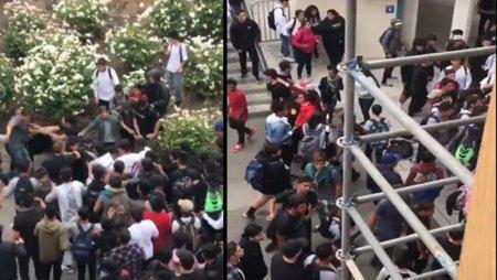 Բացառիկ կադրեր. ԱՄՆ-ի դպրոցներից մեկում հայ և օտարազգի աշակերտների միջև ծեծկռտուք է տեղի ունեցել