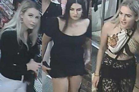 Տեսախցիկը լուսանկարել է սեքս-խանութից իրեր գողացող երեք աղջիկների