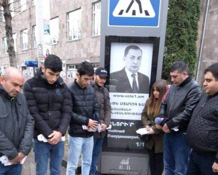 ՔՊ-ականները «հարգում  են Վահրամ Բաղդասարյանի հիշատակը»