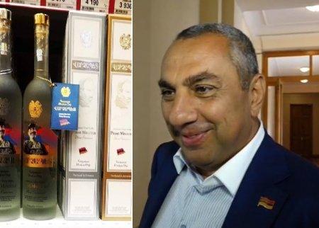 Կենացները քաղցրանում են.արագ կողմնորոշվող Սամվել Ալեքսանյանը հիմա էլ «Վարչապետ» օղի է վաճառում