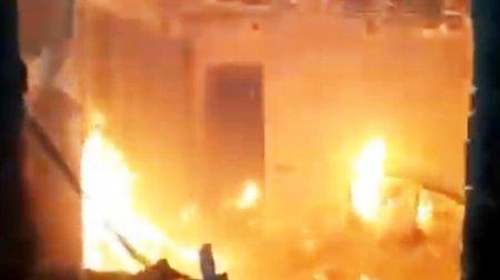 Սպանություն Ջավախքում, համագյուղացիներն էլ այրել են սպանողի տներն ու մեքենաները. Տեսանյութ