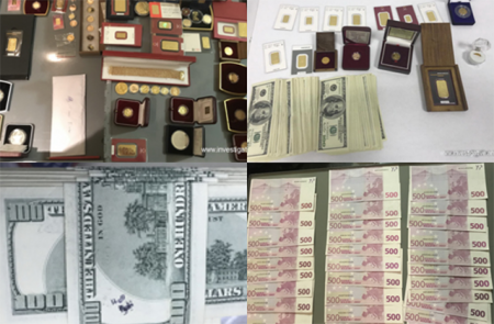 Խոշոր չափերով գումար, ոսկու ձուլակտորներ են առգրավվել «Սուրբ Գրիգոր Լուսավորիչ» ԲԿ-ի նախկին տնօրենի անհատական բանկային պահատեղիներից