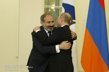 Հայաստանի հաջողությունը ներկայում Պուտինին իսկապես անհրաժեշտ է.Պուտինը Փաշինյանի գրկում. այդքան սպասված