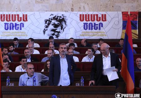 Հարկավոր է ազատ արձակել Արմեն Բիլյանին և Սմբատ Բարսեղյանին. «Սասնա ծռեր»