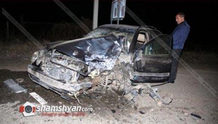 Բախվել են Mercedes-ն ու «06»-ը. պայմանագրային զինծառայողը հիվանդանոց տեղափոխվելու ճանապարհին մահացել է
