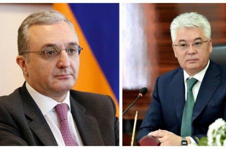 Հայաստանի և Ղազախստանի ԱԳ նախարարները հեռախոսազրույց են ունեցել Կարագանդայի միջադեպի վերաբերյալ