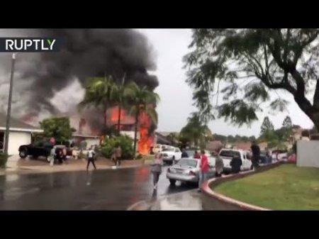Տեսանյութ. ԱՄՆ-ում օդանավն ընկել է տների վրա և պայթել. կան զոհեր