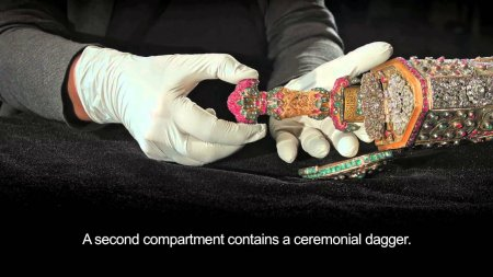 Տեսանյութ.Հայ ոսկերչի՝ թուրք սուլթանի համար պատրաստած բացառիկ հրացանը՝հազարավոր ադամանդներով և թանկարժեք քարերով