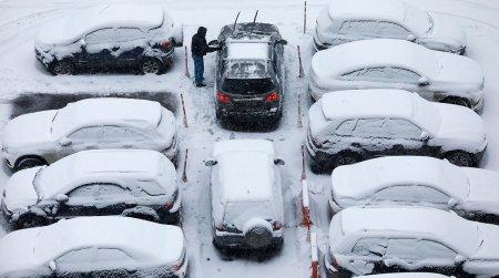 Մոսկվայում տեղացած ձյունը նոր ռեկորդ է սահմանել