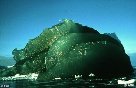 Բացահայտվել է Անտարկտիկայի ափերի մոտ հանդիպող կանաչ սառցաբեկորների առեղծվածը