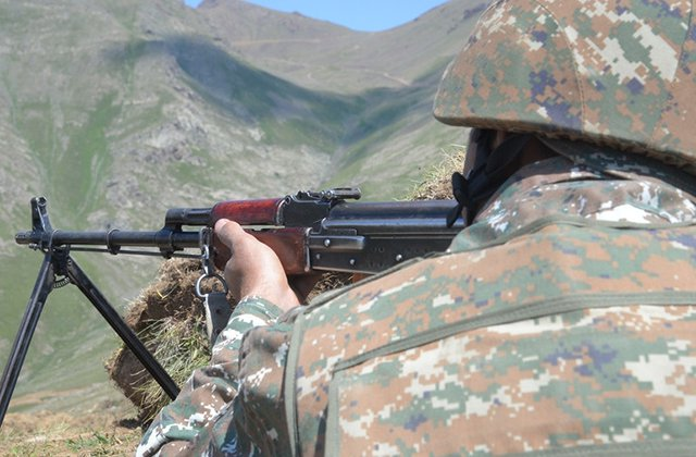 Ավելի քան 2000 կրակոց տարբեր տրամաչափի հրաձգային զինատեսակներից