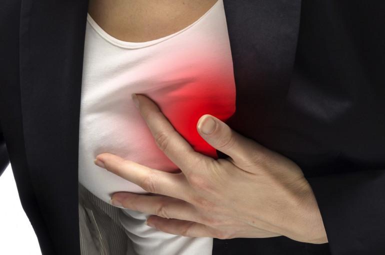 Ցավ՝ կրծքավանդակում .նշաններ,որոնք վկայում են  սրտի կաթվածի մասին