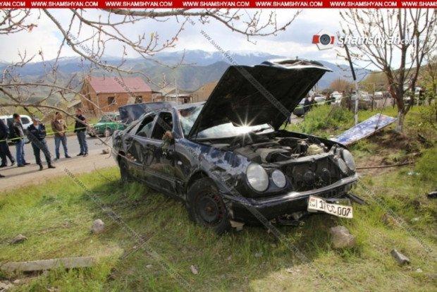 Տեսանյութ. Տեսախցիկն արձանագրել է Վայոց Ձորում ողբերգական ավտովթարի պահը. 31-ամյա վարորդը մահացել է