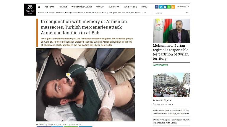 Սիրիայում թուրքամետ զինյալների և հայերի միջև բախումների մասին լուրերը կեղծ են. արաբագետ