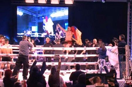 Տեսանյութ. Գյումրեցին հաղթեց թուրք մարզիկին և հաղթանակը նվիրեց ապրիլյան քառօրյայի զոհերի հիշատակին
